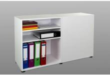 Aktenregal Büroregal Raumteiler Regal Weiß R590W