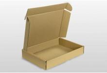 30x Faltkarton - Versandkartons Braun 320x225x50 mm