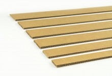 10x Kantenschutz Kartonstreifen 2-wellig 60 x 910 mm