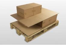 20x Kartonplatte 800 x 1105 mm Palettenzwischenlage Wellpappe Zuschnitt Bastelkarton