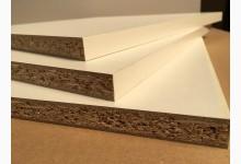 2er Set Einlegeboden - Zwischenboden - Holzzuschnitt Weiß 362 x 355 x 16 mm
