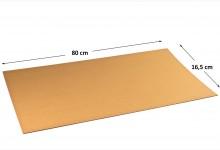 100x Kartonplatte 800 x 165 mm Palettenzwischenlage Wellpappe Zuschnitt für Europalette und Versand