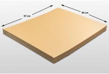 20x Kartonplatte 900 x 970 mm Palettenzwischenlage Wellpappe Zuschnitt für Europalette