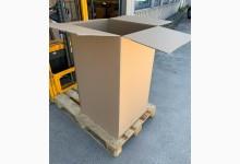 3er Palettenkarton Paletten Container Faltkarton XXL 635 x 525 x 1035 mm