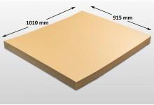 10x Kartonplatte 915 x 1010 mm Palettenzwischenlage Wellpappe Zuschnitt f Palette