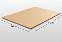 3er Set Kartonplatte 568 x 845 mm 3-Wellig sehr stark Karton Unterlage für Basteln Puzzle etc