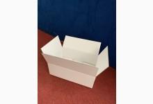 15x Faltkarton Versandkarton Stärke 3 mm doppelwellig 410 x 280 x 140 mm Weiß