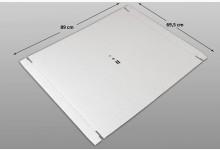 20x Kartonplatte 695 x 890 mm Weiß Palettenzwischenlage Wellpappe Zuschnitt Restposten