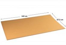 10x Kartonplatte 675 x 1420 mm extra verhärtet Palettenzwischenlage Wellpappe Zuschnitt f Palette