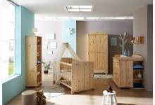 5tlg. Babyzimmer Mod.888617 Kiefer Natur