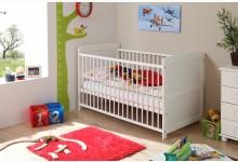 Babybett Mod.891075 Kiefer Weiss