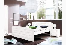 Einzelbett 140x200 Mod.857583 Kiefer Weiss