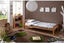 Einzelbett 90x200 Mod.890429 Buche Natur