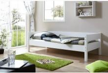 Einzelbett 90x200 Mod.890825 Buche Weiss