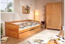 Sofabett mit Auszug Mod.890634 Buche Natur