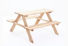 Indoor Picknicktisch für Kinder Mod.889249 Kiefer Natur