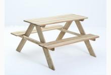 Outdoor Picknicktisch für Kinder Mod.889256 Kiefer Natur kesseldruckimprägniert