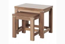 2-Satz-Tisch Mod.T145 Nussbaum