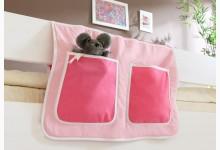 Bett-Tasche für Hoch- und Etagenbetten Mod.809575 Rosa - Pink