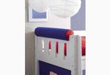 Nackenrolle Mod.880185 Blau - Rot