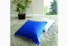 Kissen-Set Mod.880451 Blau - Weiss
