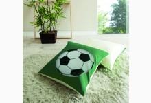 Kissen-Set Mod.880550 Grün - Fussball-Motiv