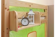 Einhängeregal für Hoch- und Etagenbett klein Mod.813503 Kiefer Natur