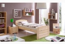 Einzelbett 90x200 Mod.855787 Kiefer Natur