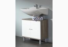 Waschbeckenunterschrank Mod.W035_ETW Trüffel-Eiche Weiss