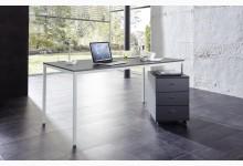 Schreibtisch-Rollcontainer-Set Mod.GM783 Anthrazit