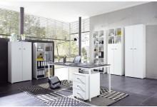 7tlg. Büro- & Arbeitszimmer Mod.GM784 Weiss