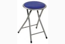 12er Set Sitzhocker Mod. 44810 Blau