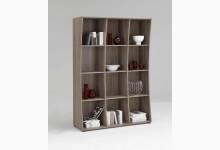 Bücherregal Mod.R490_2 Eiche Dunkel