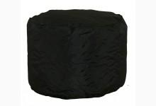 Kleiner Sitzsack Pouf Optilon Mod. 1100201 Schwarz