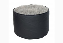 Kleiner Sitzsack Pouf Lotos-Minadra Mod. 1103336 Grau