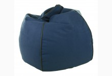 Sitzsack Dubai Genua-Lotos Mod. 1284203 Blau - Schwarz