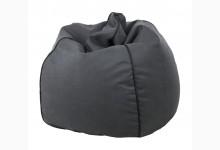 Sitzsack Dubai Genua-Lotos Mod. 1284215 Grau - Schwarz