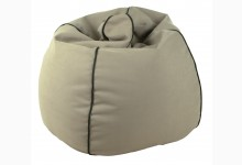 Sitzsack Dubai Genua-Lotos Mod. 1284223 Beige - Schwarz