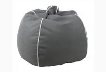 Sitzsack Dubai Genua-Lotos Mod. 1284232 Grau - Weiss