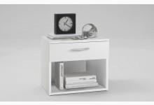 Nachtkonsole Mod.F613-001 Weiß
