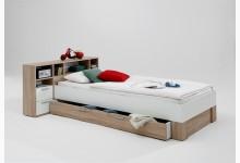 Jugendbett Mod.F809-001 Eiche/Weiß