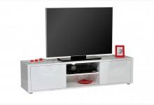TV Lowboard Mod.TV663_W Weiss Hochglanz