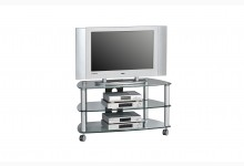 TV-Rack Mod.MJ038 Metall Alu