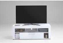 TV Lowboard Mod.F271-101 Weiß Hochglanz