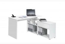 Schreibtisch Mod.MJ105 Icy-Weiß