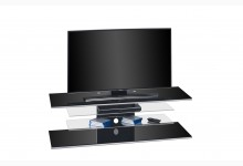 TV Ablage Lowboard Mod.MJ121 Schwarz