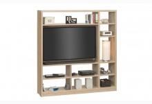 Raumteiler mit Cableboard Mod.MJ159 Sonoma Eiche