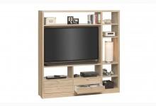 Raumteiler mit Cableboard Mod.MJ160 Sonoma Eiche