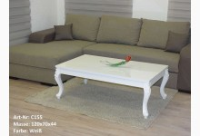 Couchtisch Mod.ET015-120 Weiß Hochglanz