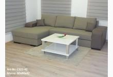 Couchtisch Mod.ET019-100 Weiß Hochglanz